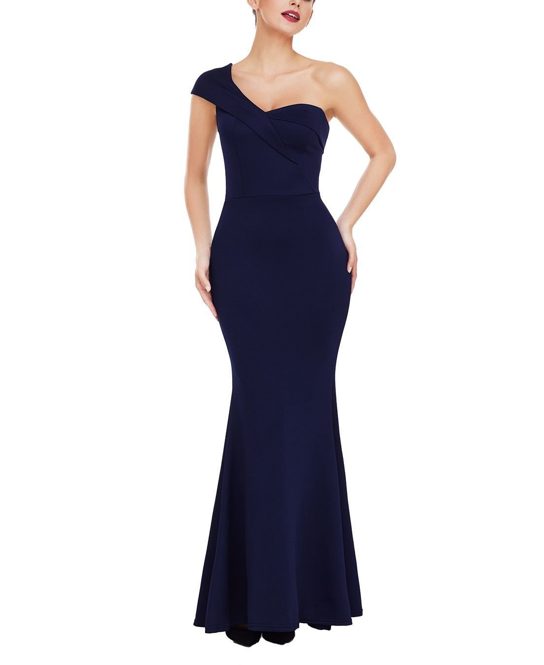 One-Shoulder Mermaid Formal Dress