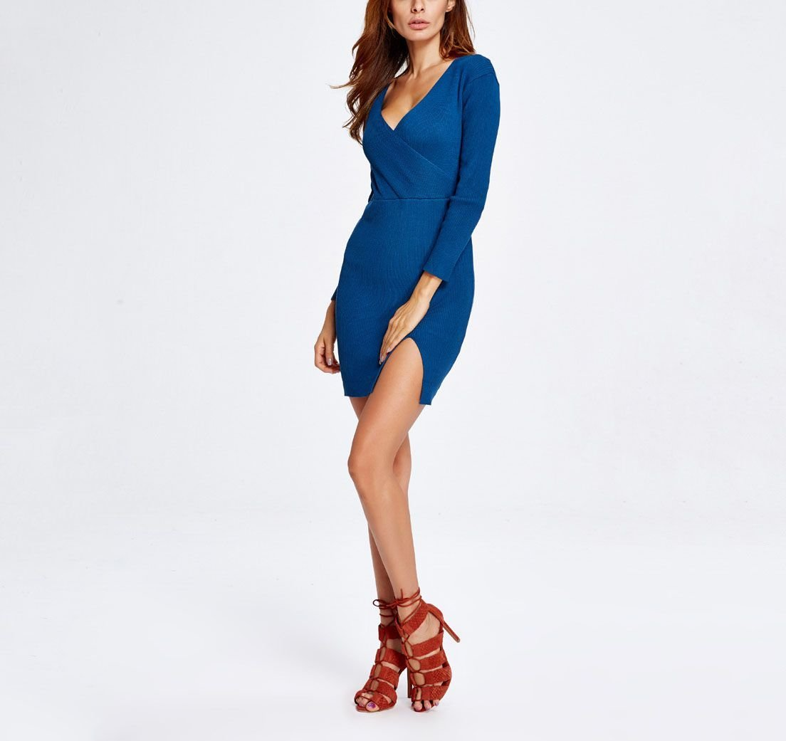 Knitted Sweater Dress for Club or Cocktails