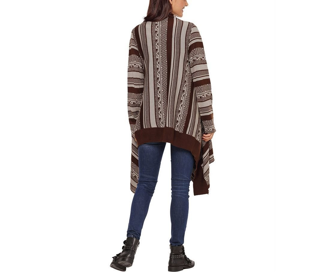 Long Knit Cardigan Top with Loose Fit