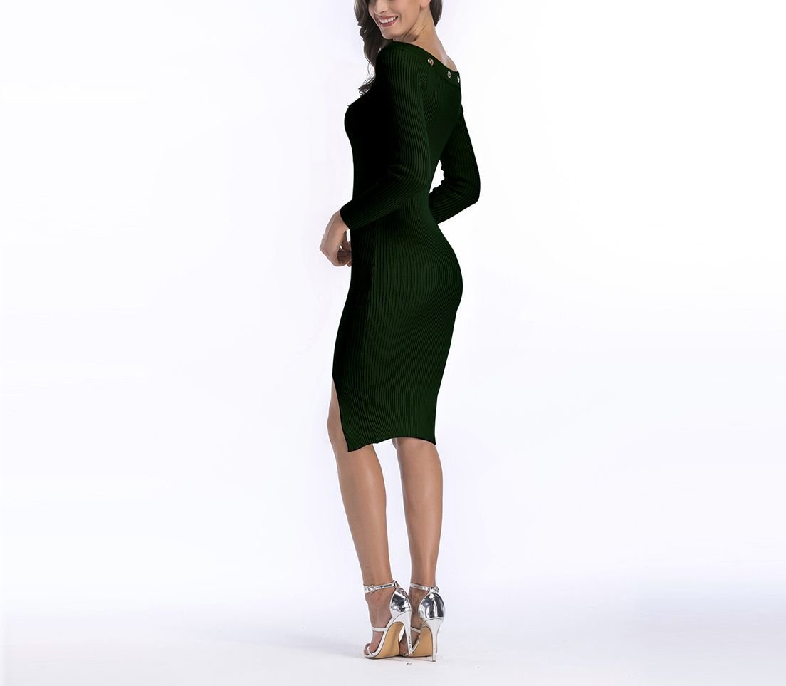 Bodycon Sweater Dress for After Hours