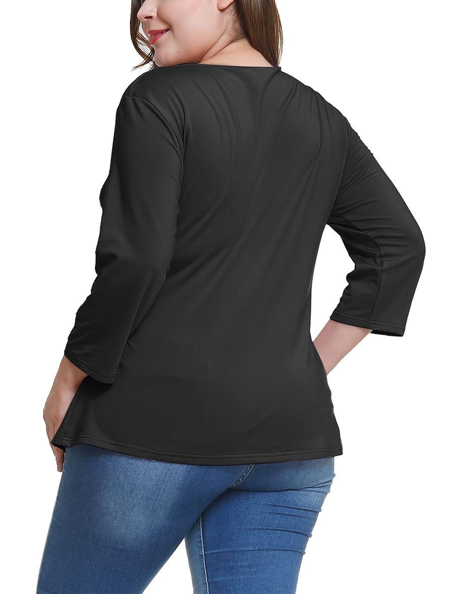 Wrap Top with Adjustable Side Tie
