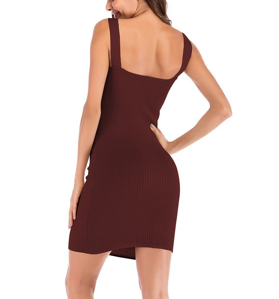 Club Dress with Bare Midriff in Front