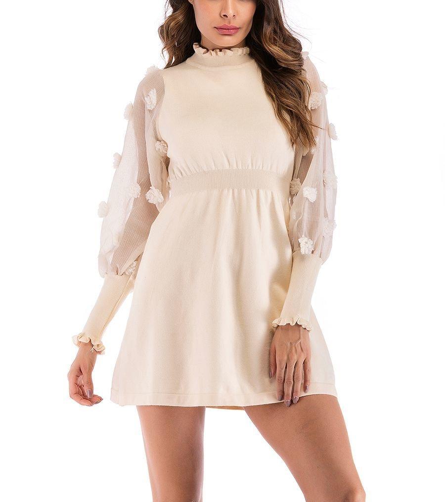 Short Club Dress with Feminine Styling