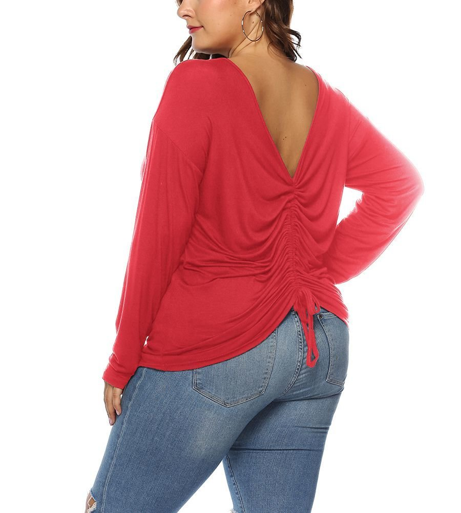Modal Fabric Top with Reversible Front and Back
