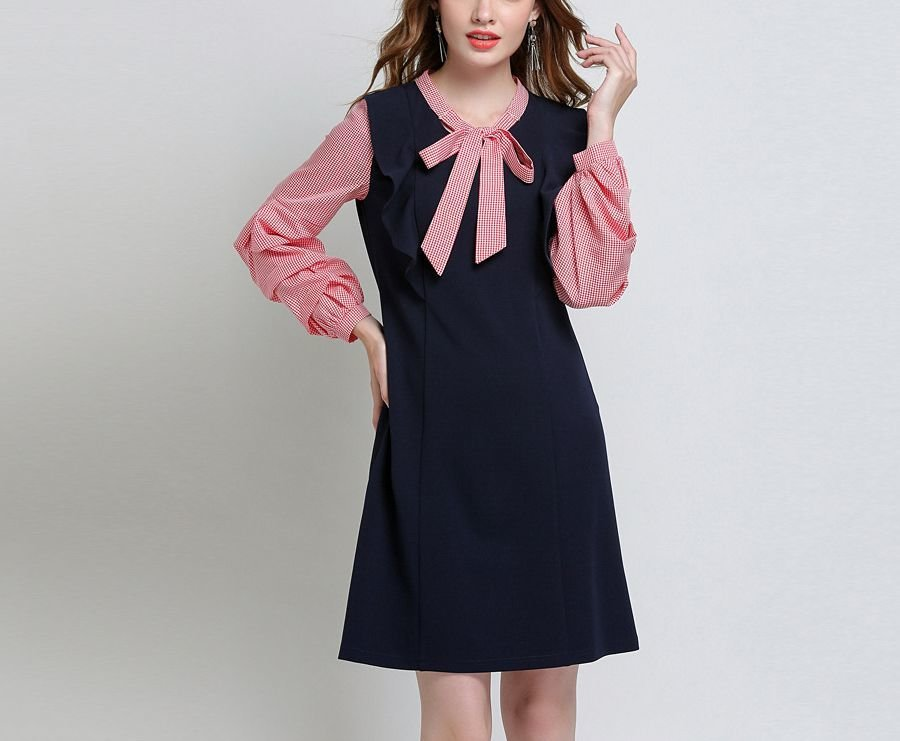 Work Dress with Feminine Details