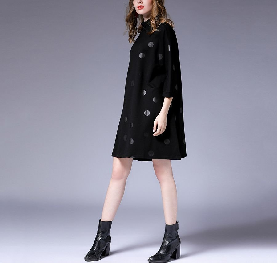 Casual Dress with Tent Dress Styling