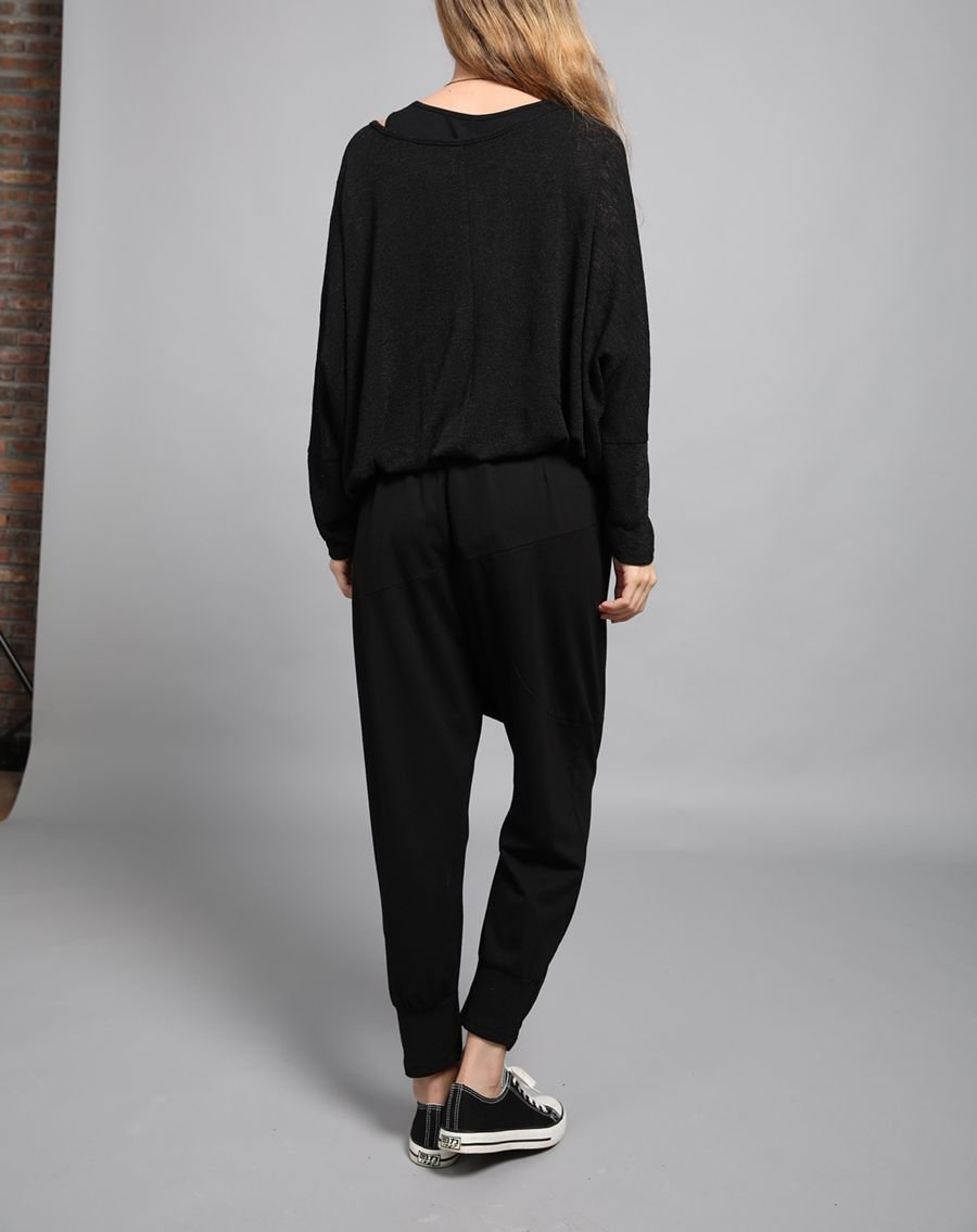 Large Size Top with Two-Piece Look