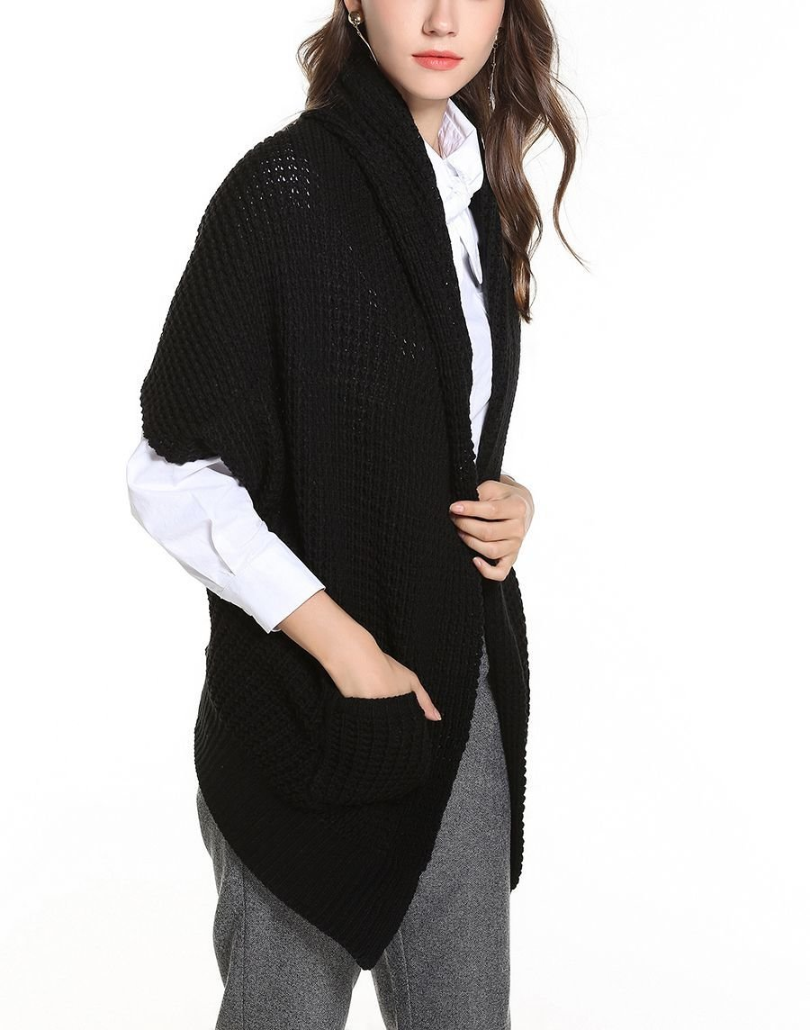 Textured Cardigan Sweater with Short Sleeves