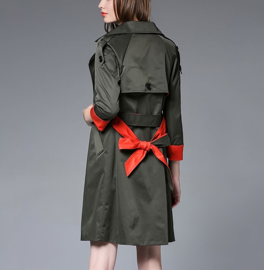Trench Coat with Full Lining