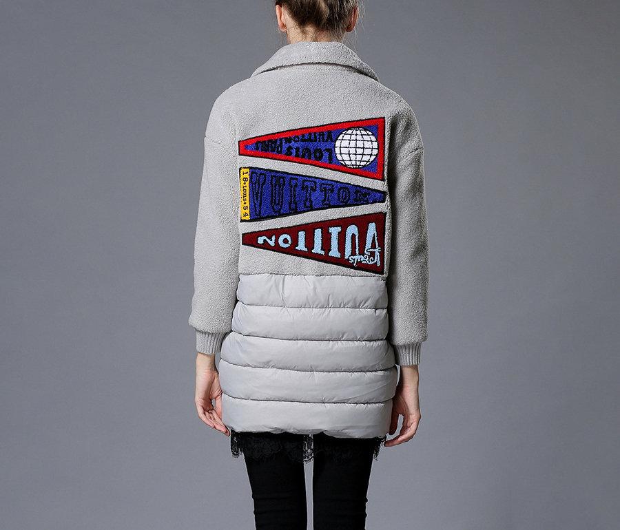 Polar Fleece Coat in Plus Sizes