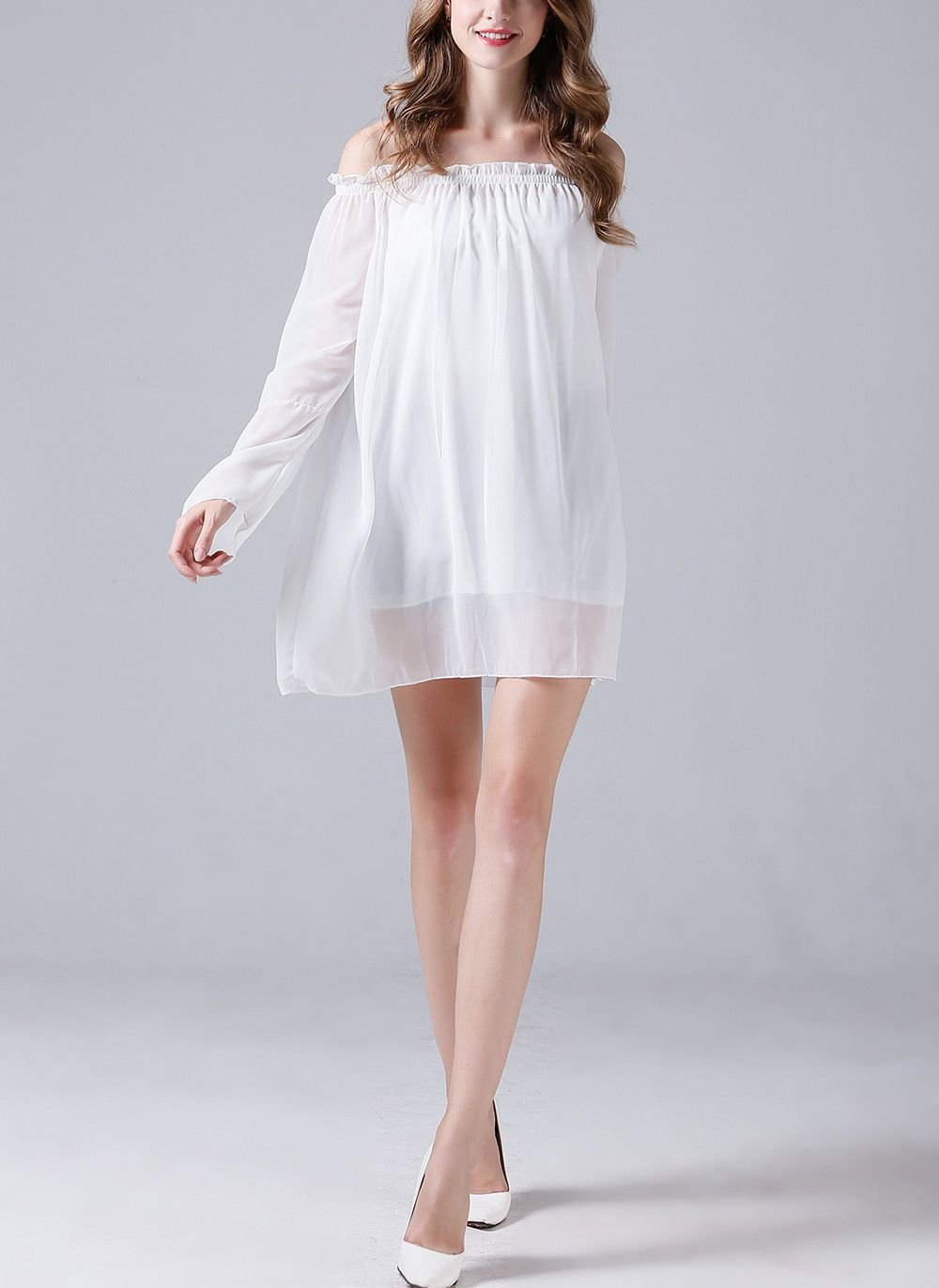 Chiffon Cocktail Dress or Tunic Top
