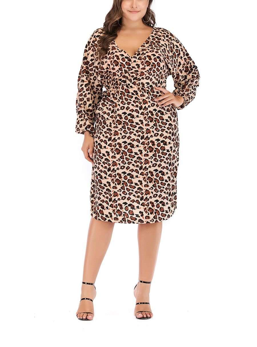 Animal Print Dress for Work