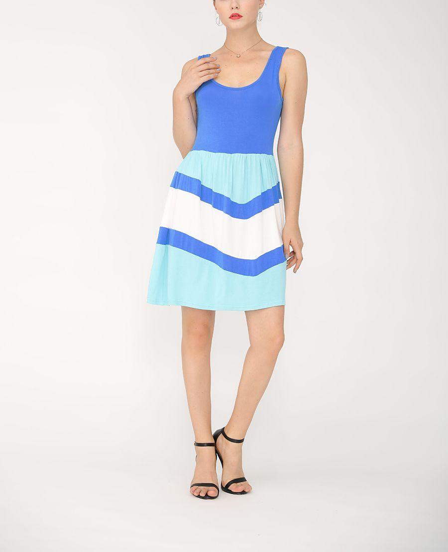 Rayon Blend Sleeveless Casual Dress
