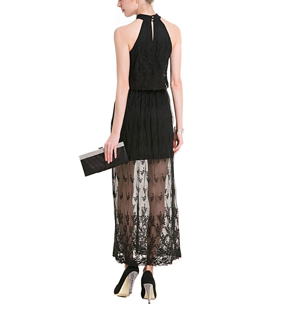 Lace Formal Dress with Short Lining