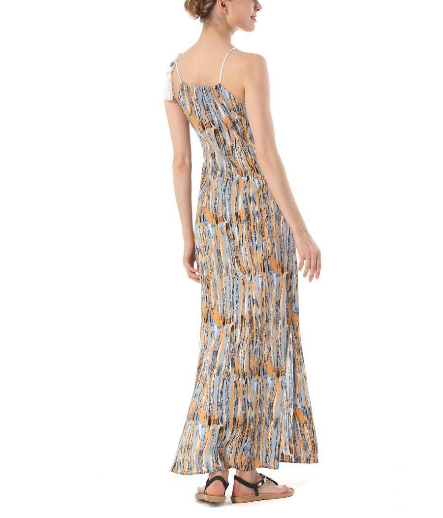 Long Chiffon Casual Dress