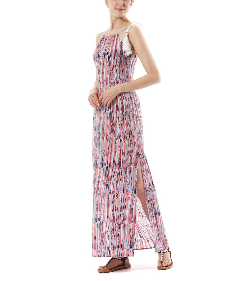 Long Chiffon Casual Dress