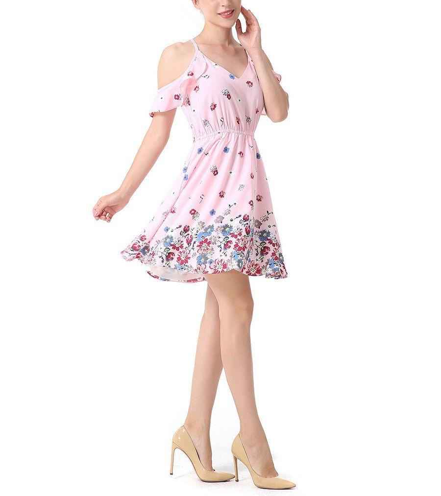 Youthful Style Chiffon Dress
