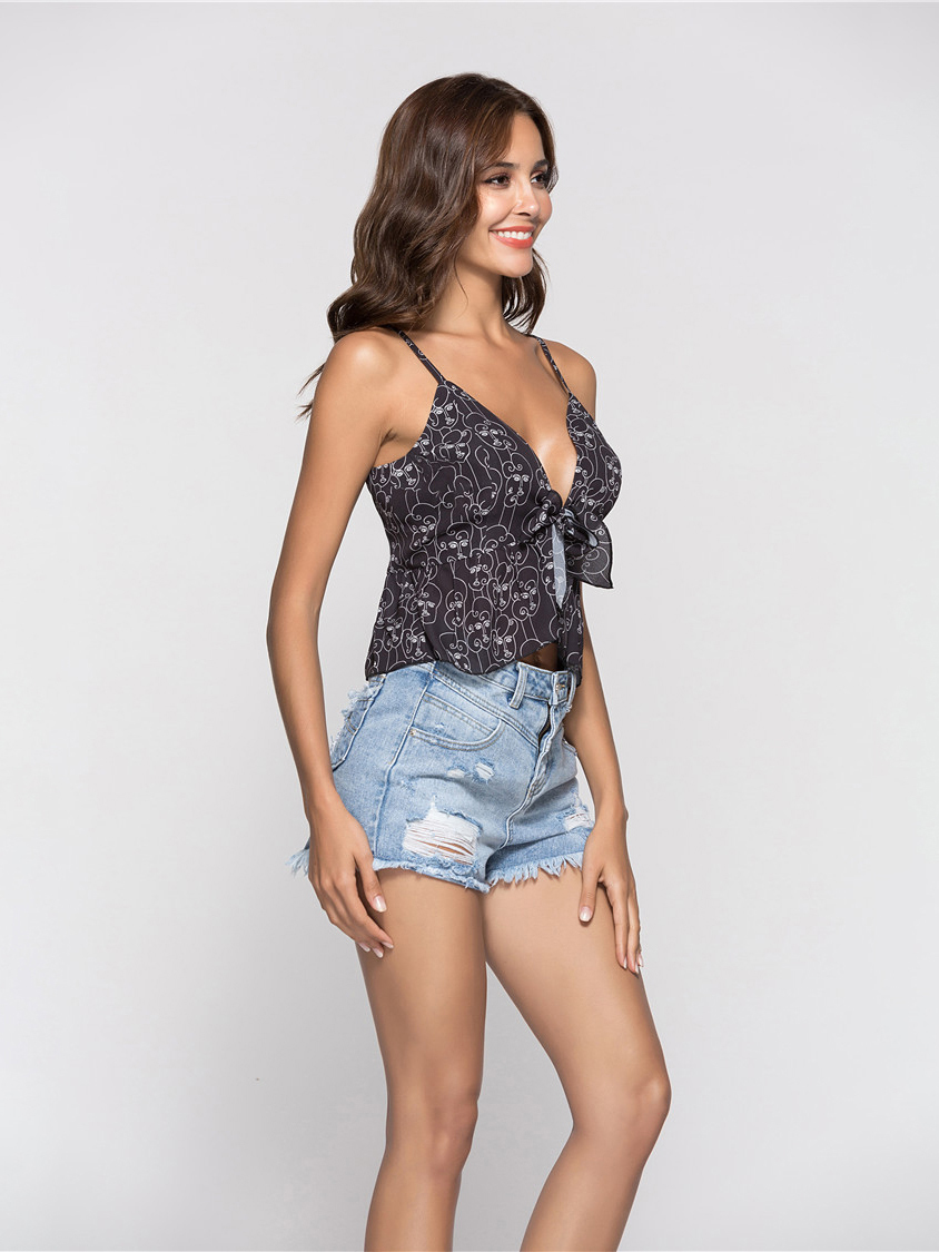 Camisole Top with Ruffle