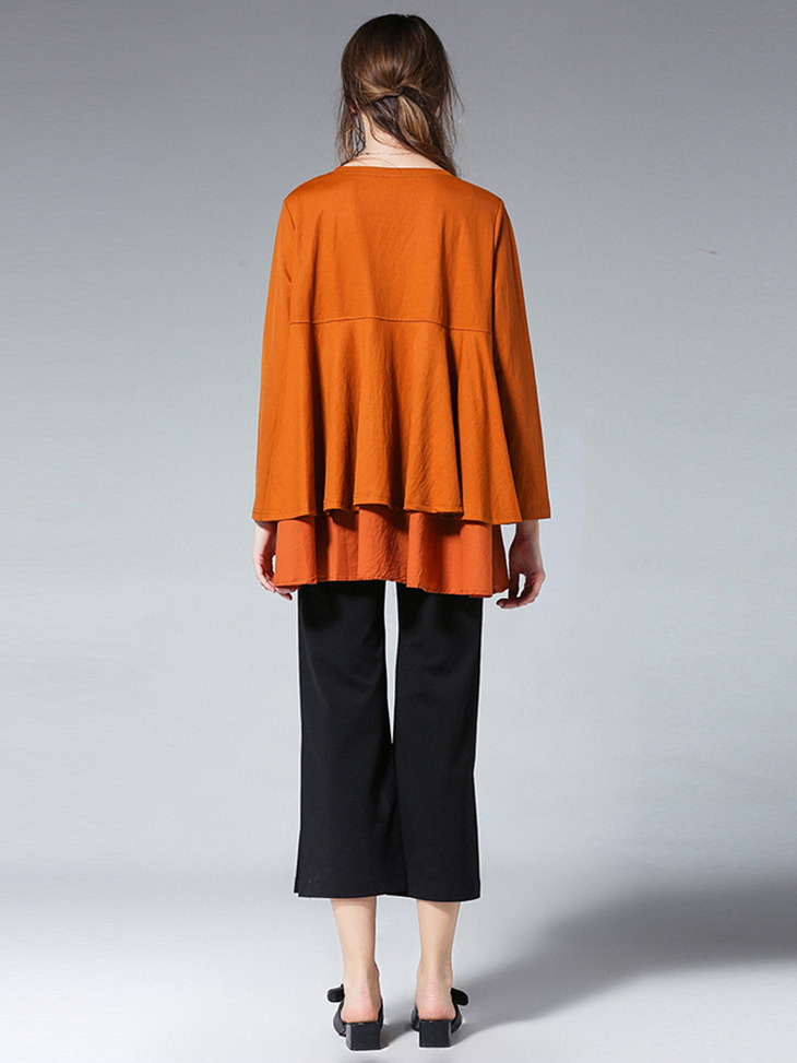 Loose Top with Layered Look