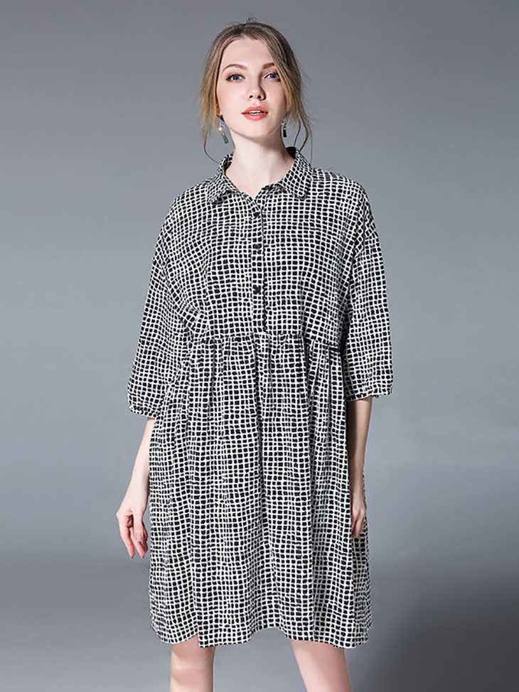 Cotton Casual Dress