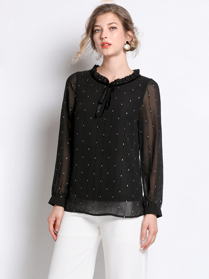 Chiffon Top with Lining