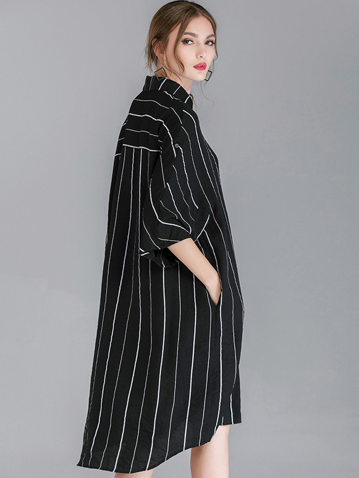 Shirt Style Long Top