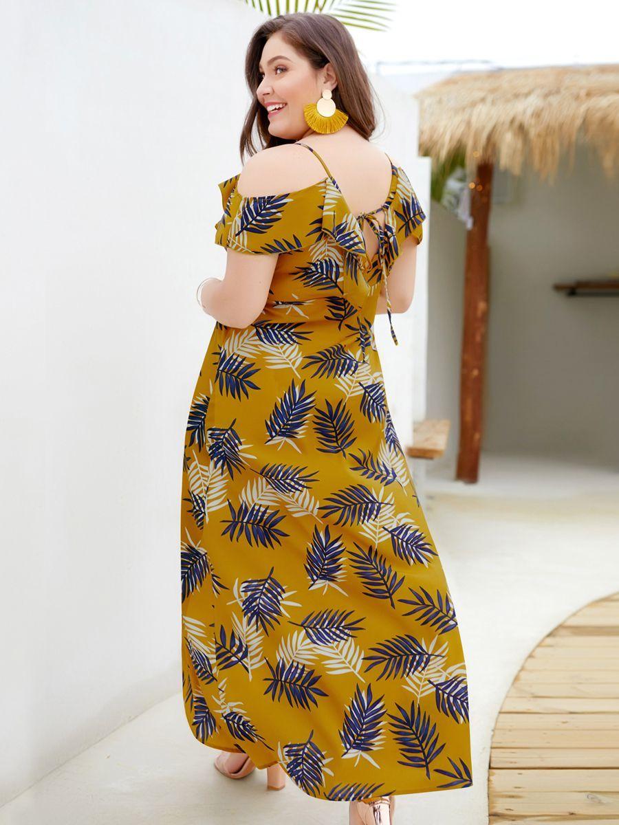 Chiffon Cocktail Dress with Ruffles