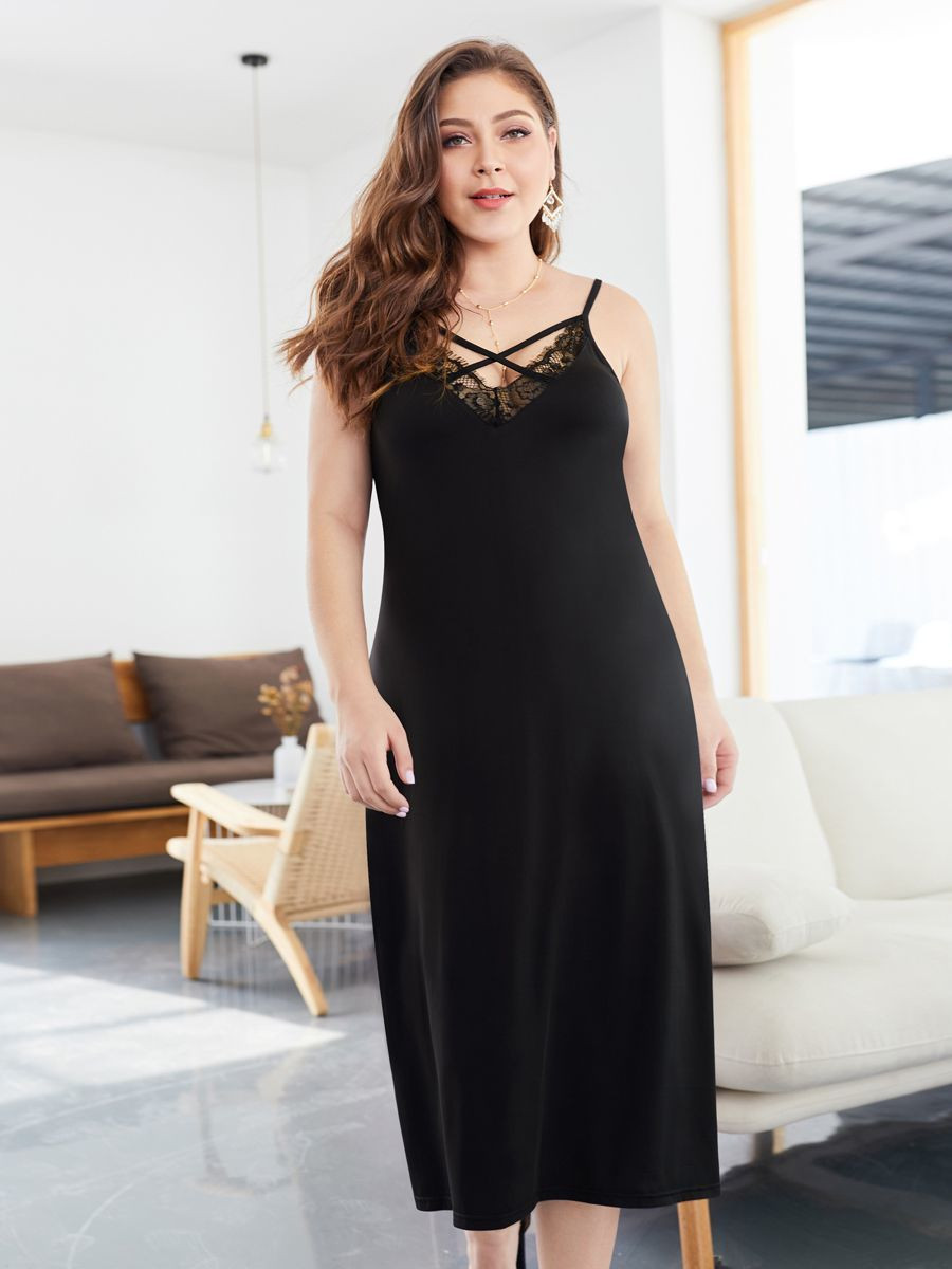 Tea Length Cocktail Dress with Lace