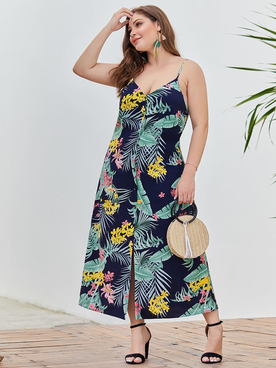 Button Front Casual Dress