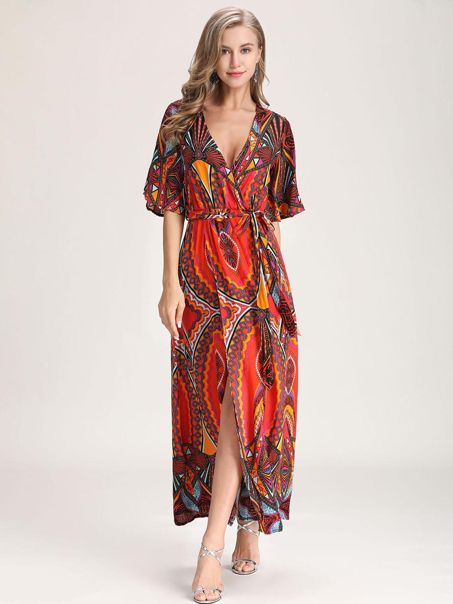 Rayon Lounge Dress