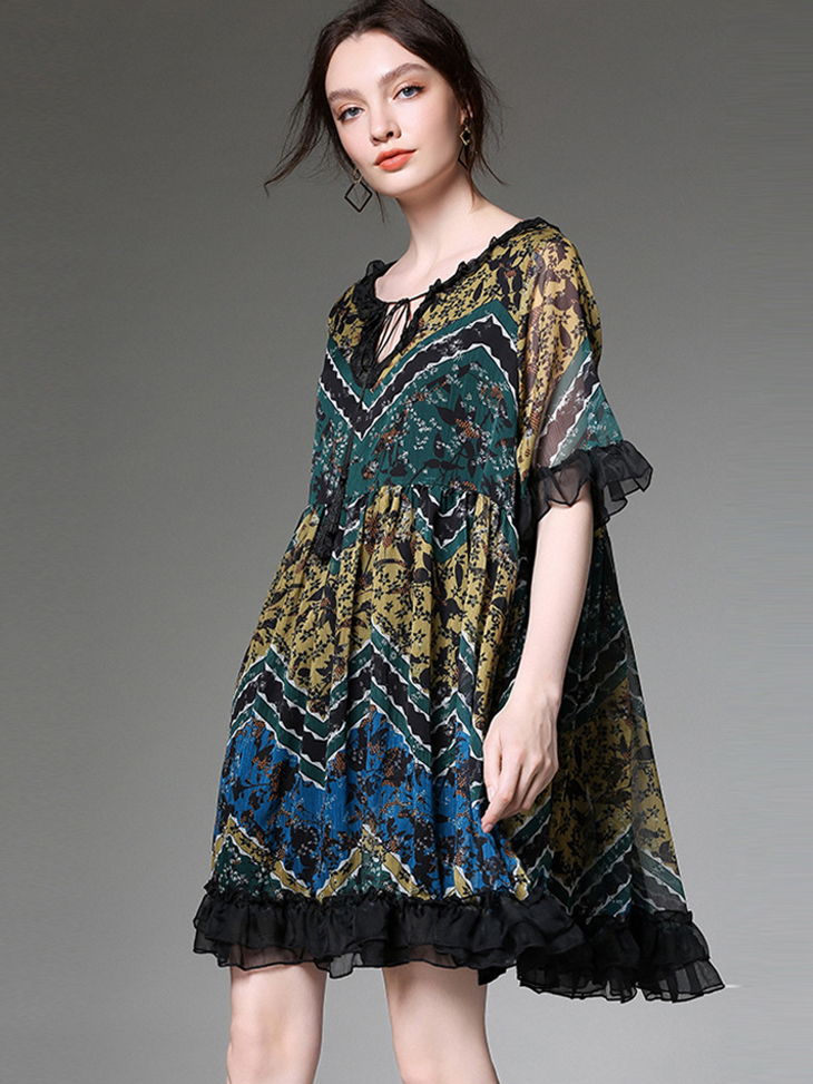 Boho Cocktail Dress