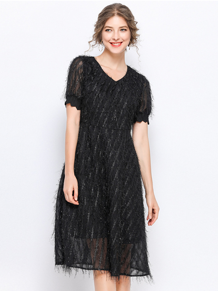 Sparkly Lace Cocktail Dress