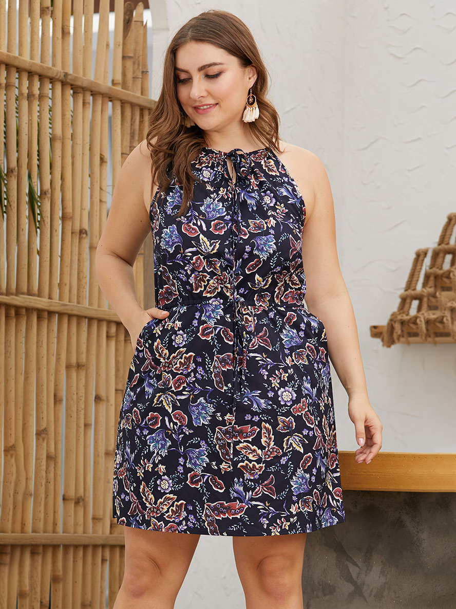 Summer Casual Dress with Pockets