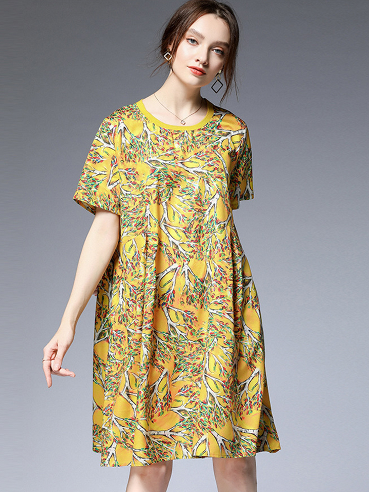 Casual Dress with Loose Fit