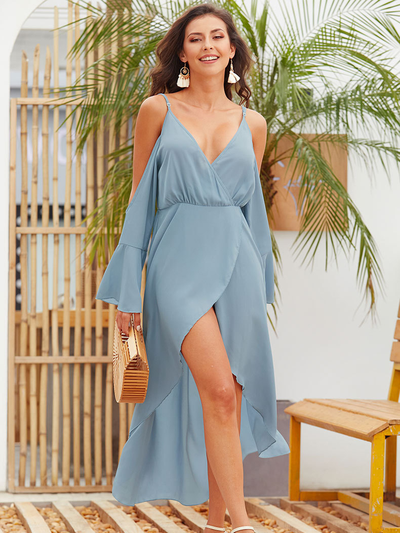 Flowing Chiffon Cocktail Dress