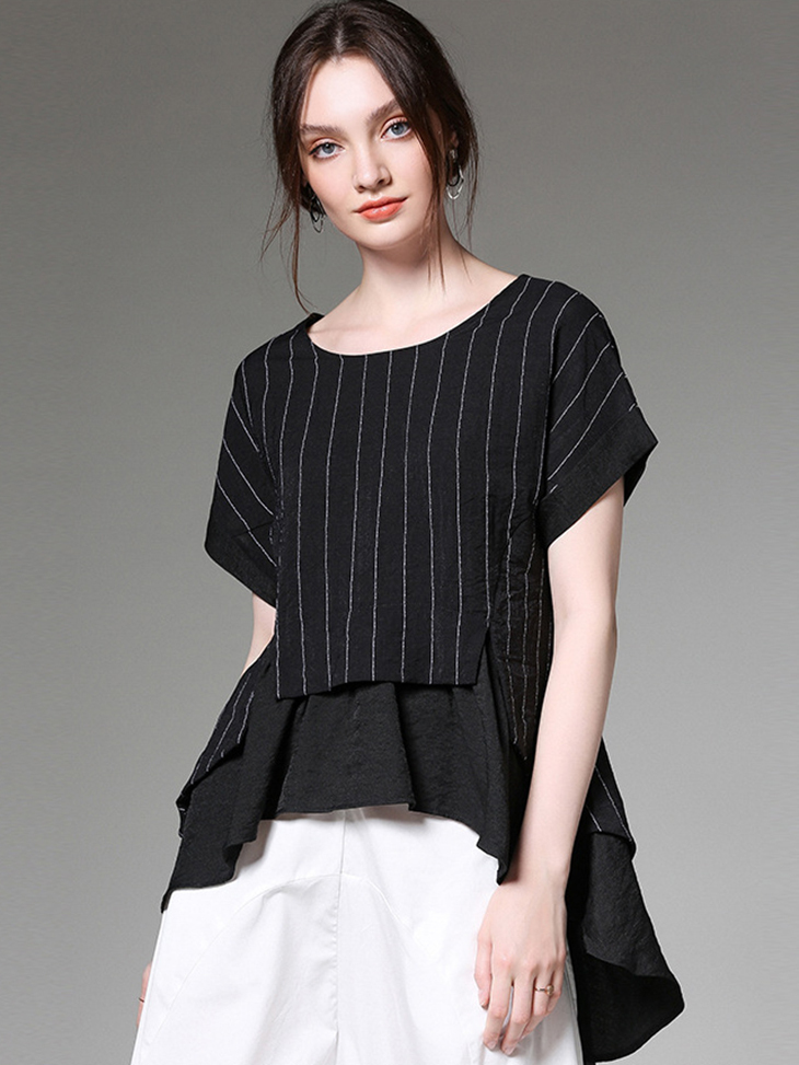 Modern Top with 2-Piece Look