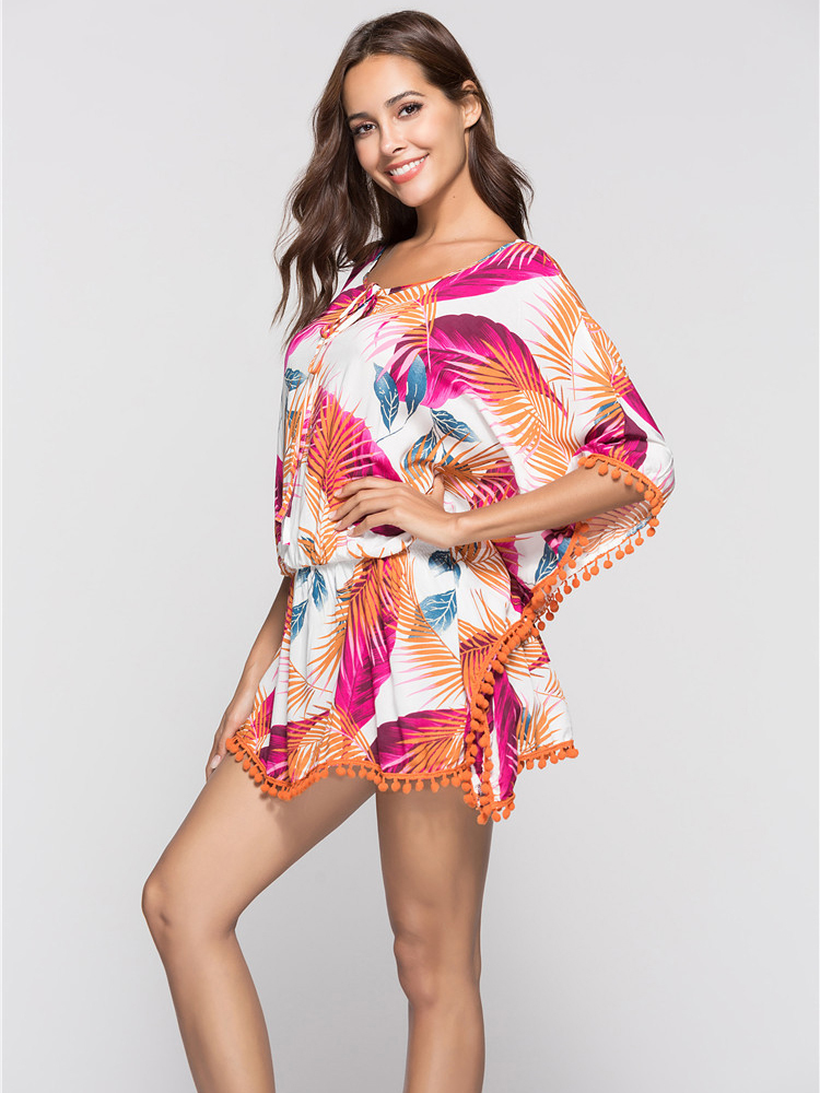 Colorful Casual Dress