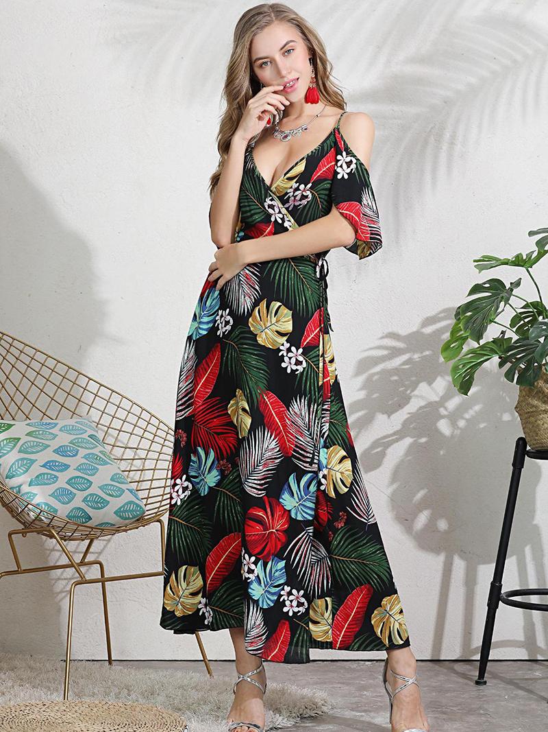 Cold Shoulder Formal Dress for Summer