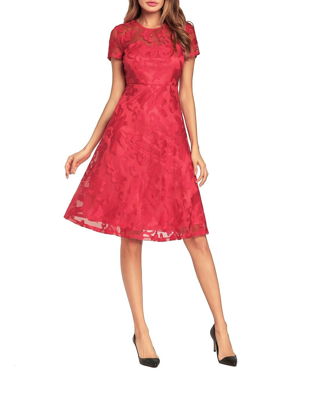 Vintage Lace Empire Dresses for Women