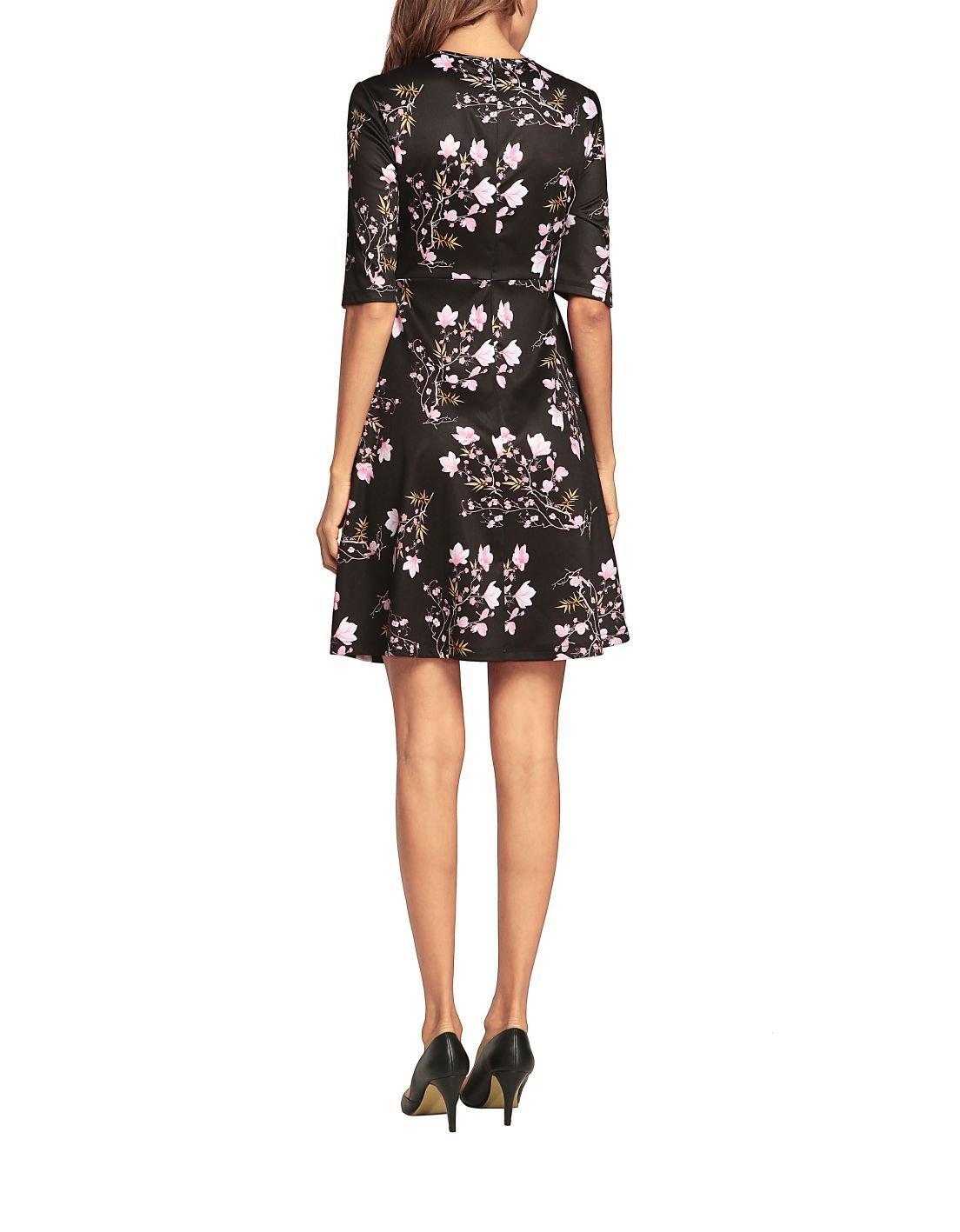 Basic Floral Knit Dress