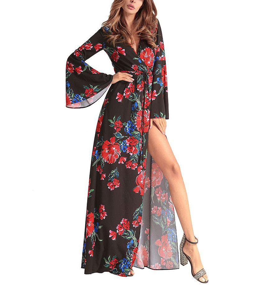 Sexy Wrap Dress for Club & After Hours