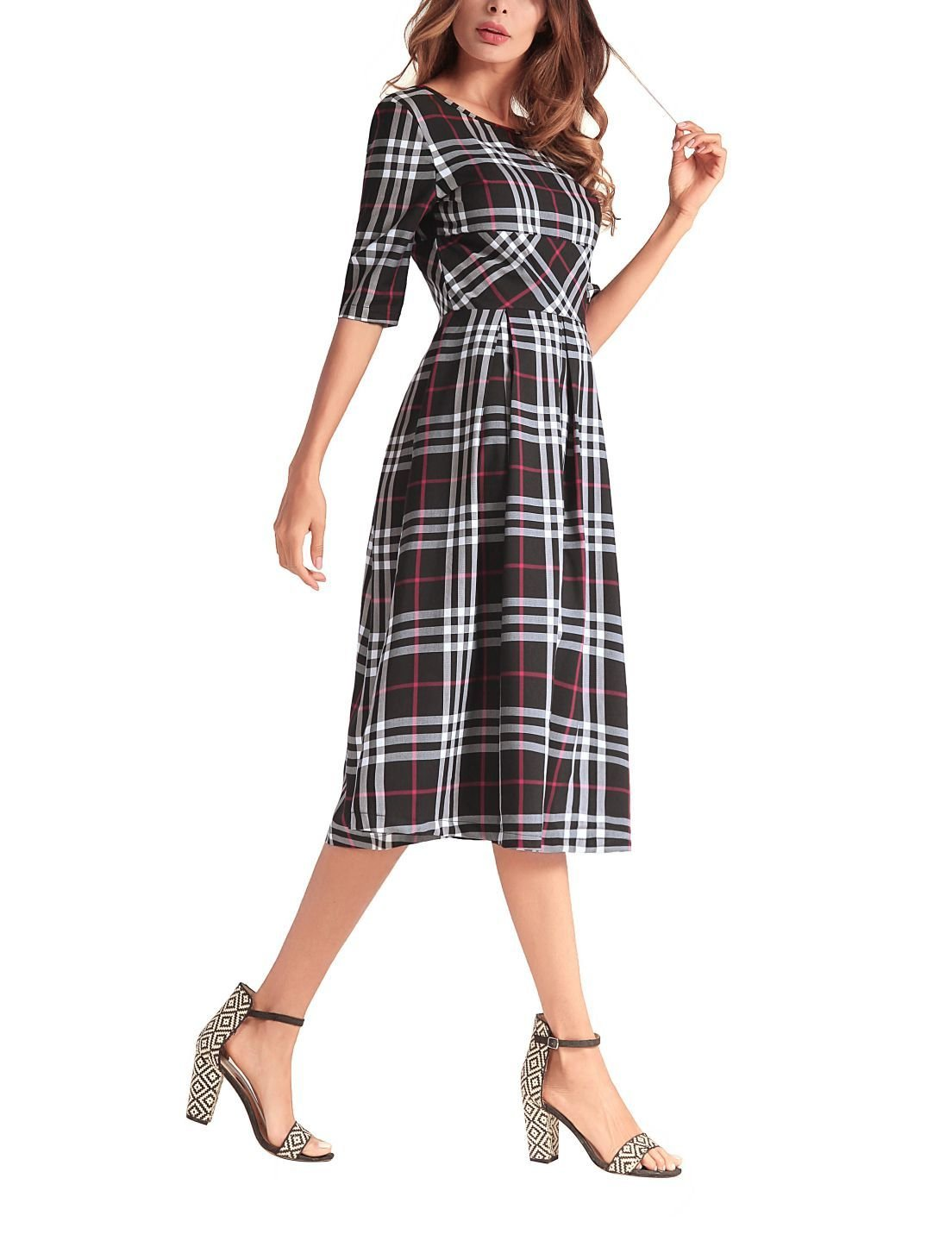 Plaid Dress for Work