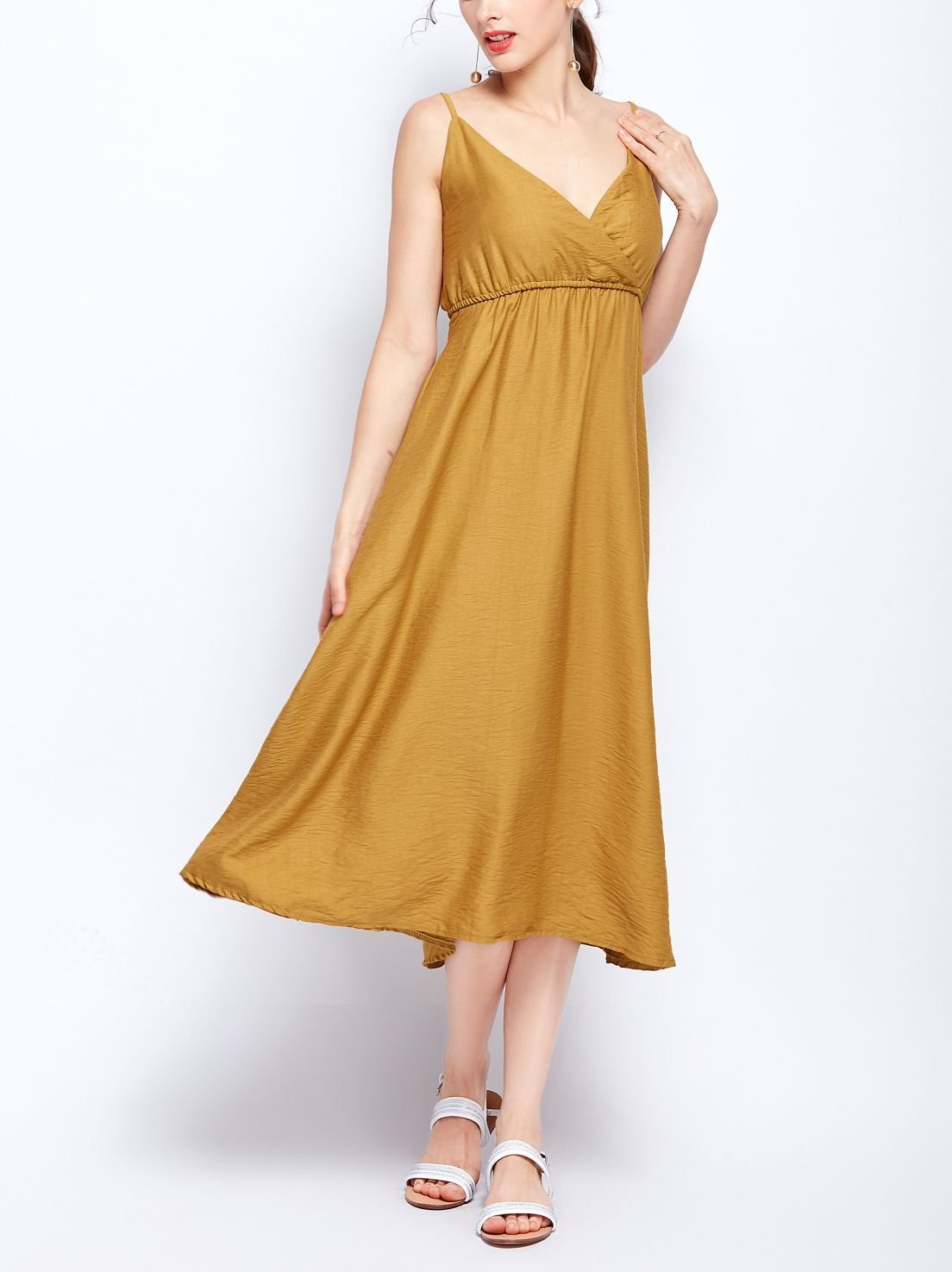 Formal Dress with Slip Styling