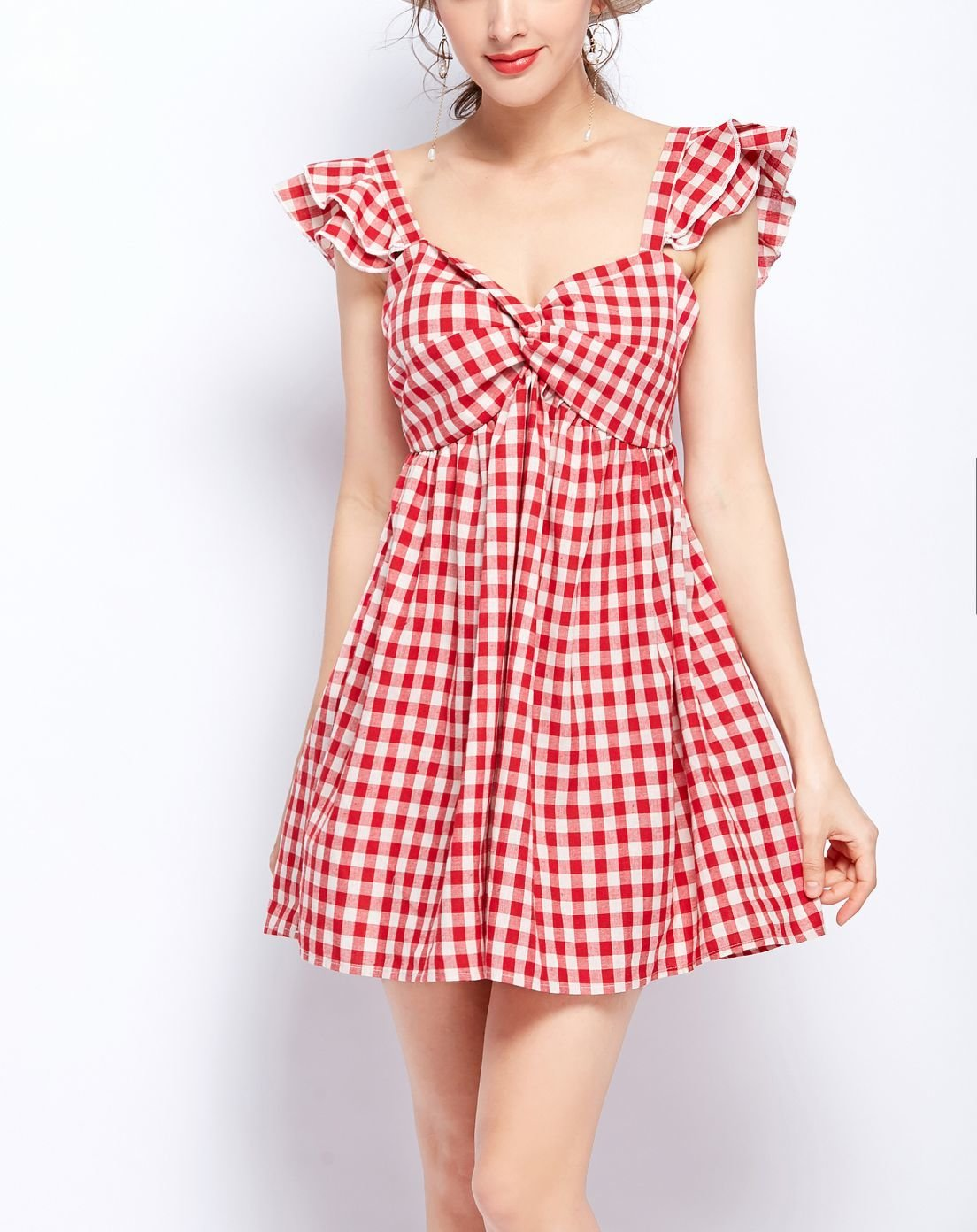 Pretty Pinafore Casual Dress