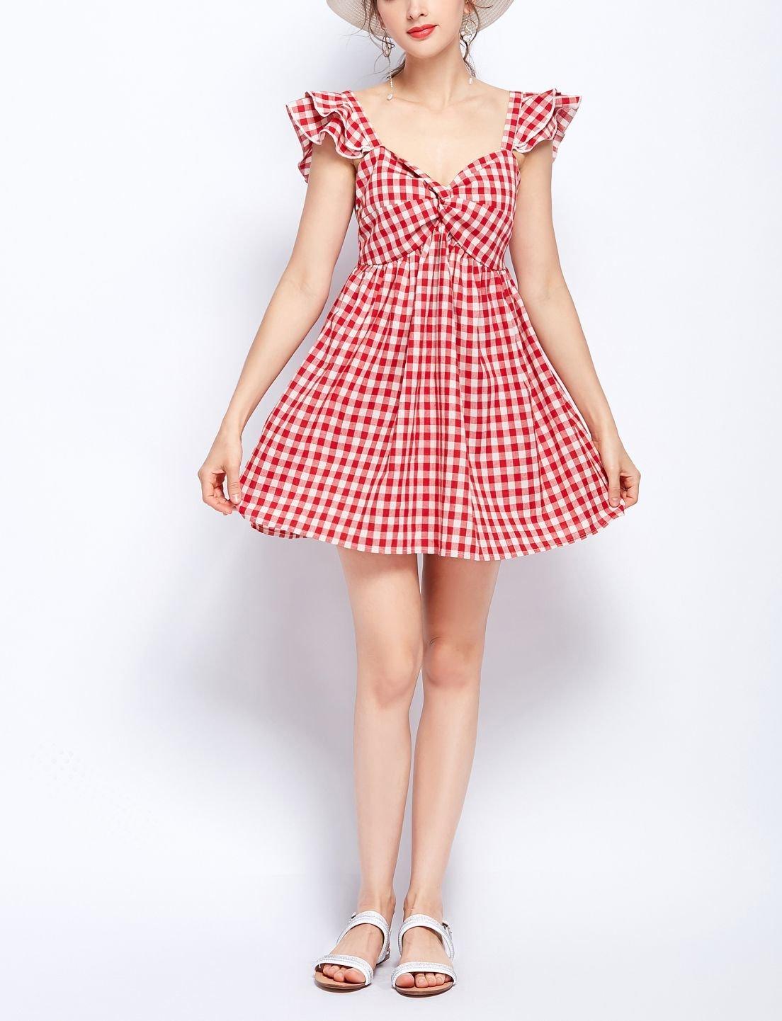 Pretty Pinafore Casual Dress