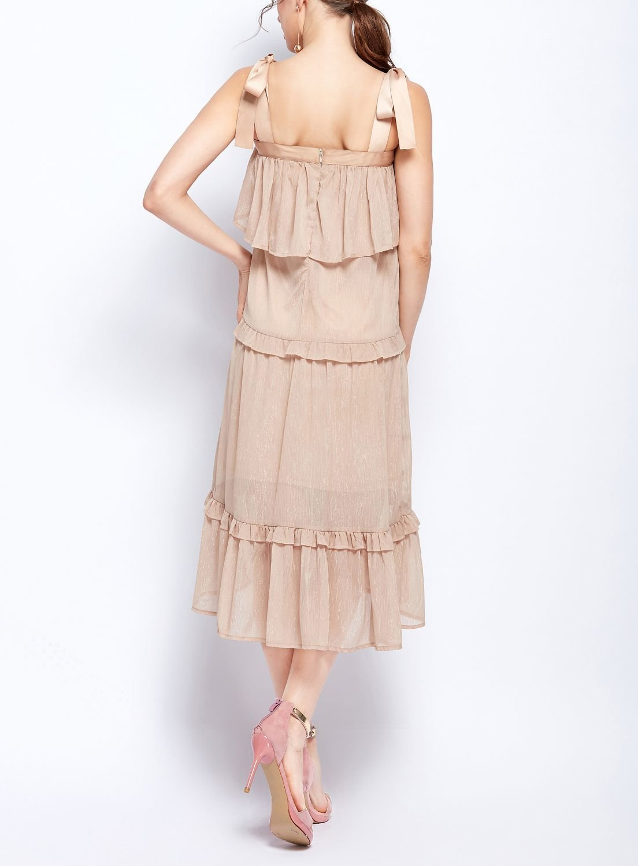 Chiffon Ruffles Formal Dress
