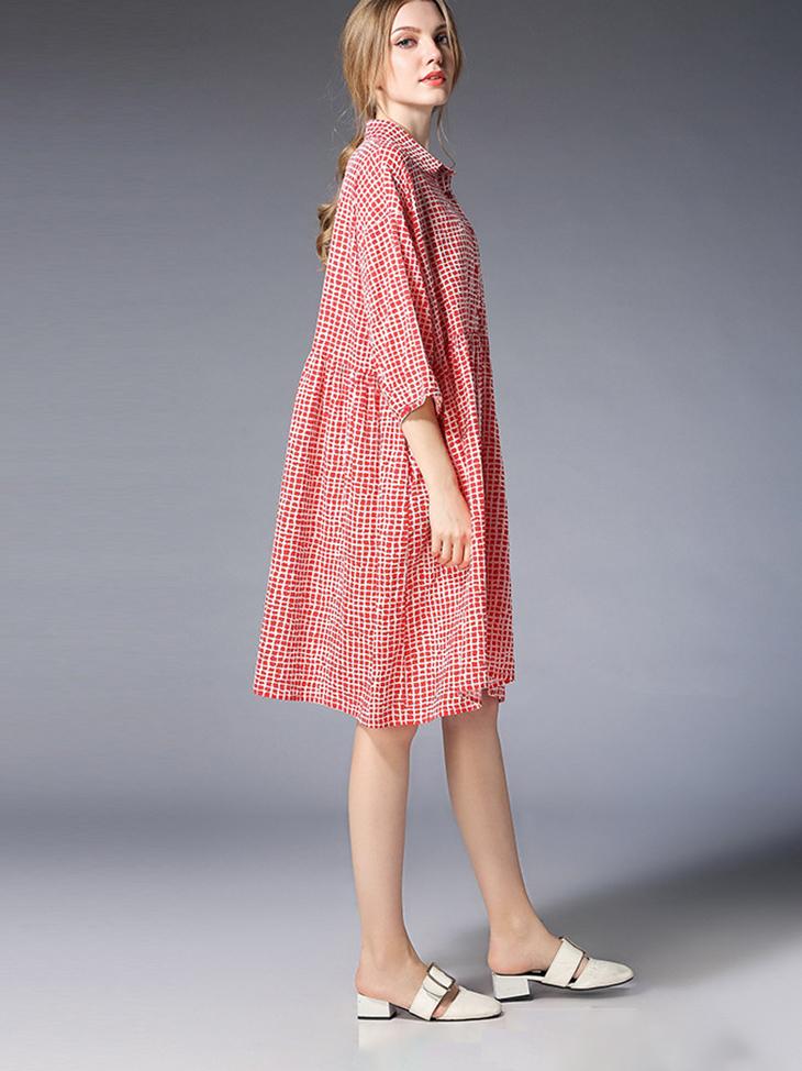 Cotton Casual Dress