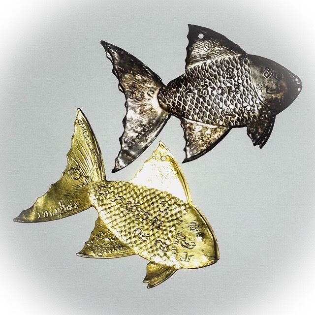 Pla Tapian Barb Fish Amulets for Wealth and Business