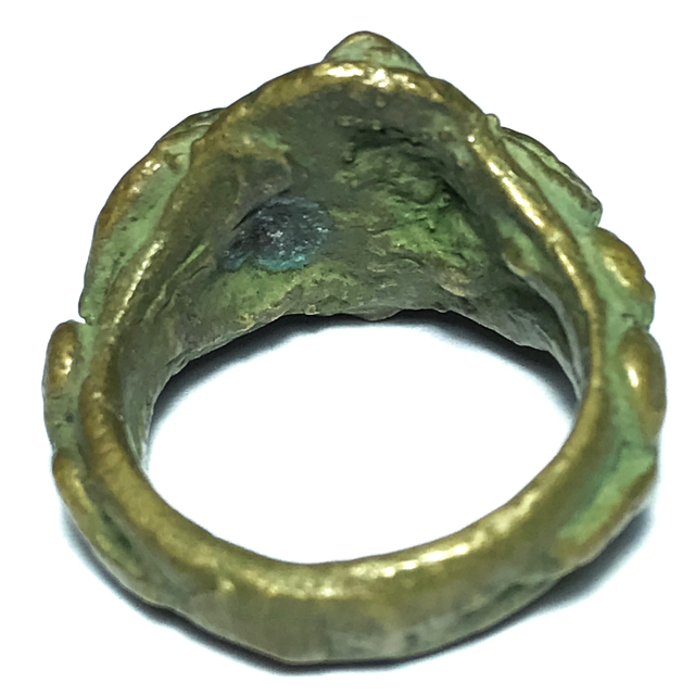 Hwaen Ngu Giaw Sap Entwined Snakes Magic Ring of Protection Wealth and Treasure