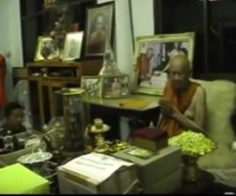 Luang Phu Phaew blessing amulets